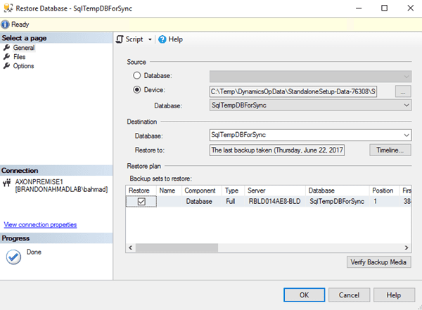 On-Premise Tutorial Part 3: Getting the SQL Going for